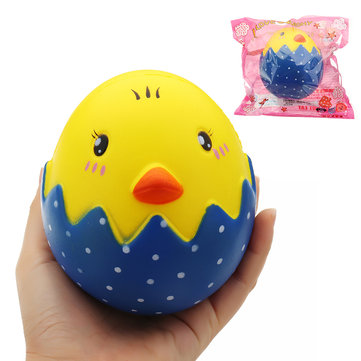 Broken Egg Shell Squishy 13*11CM Slow Rising With Packaging Collection Gift Soft Toy