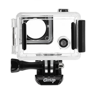 Side Open Protective Skeleton Waterproof Case for Gitup GIT2P 90 Degree FOV Camera