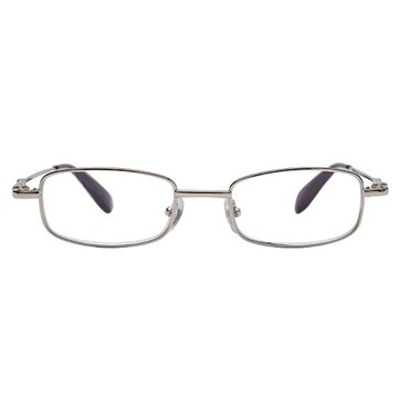 SHUAIDI Anti-fatigue Ultra-high-grade Metal Frame Reading Glasses Presbyopic Glass 9023