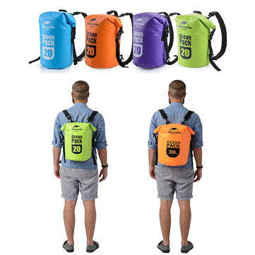 Naturehike 20L Travel Waterproof Bag Beach Ocean Storage Dry Pack Snorkel Swim Shoulder Carry Pouch