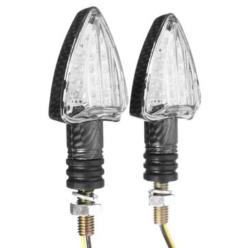 LED Motorcycle Bulb Turn Signal Lights Indicator Amber Blinker Light Lamp
