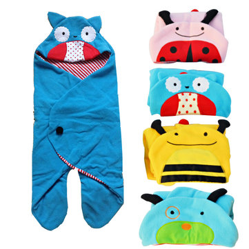 Vvcare BC-S01 Cartoon Animal Infant Sleeping Bag Bedding Warm Swaddle Blanket Wrap Sleepsacks