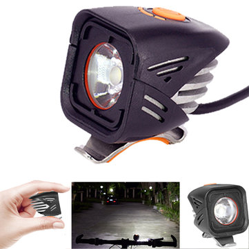 XANES XL10 1000LM L2 LED Bicycle Headlight 60g IPX6 Waterproof 180° Floodlight 4 Modes Power Display Temperature Control