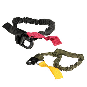 90cm EDC Adjustable Nylon Ribbon Climbing Safety Rope Insurance Rope