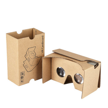 Cardboard VR Experience 3D Glasses Virtual Reality Handheld Glasses For 4.7-5.5inch Smartphone