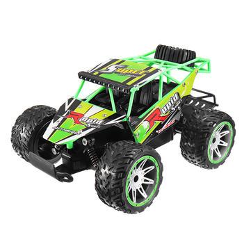 1815-5 1/16 2.4G 20KM/h Racing RC Car All Terrain Veehicle Skeleton Truck Toys