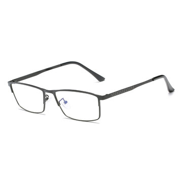 Lightweight Blue Light Blocking Optical Eyeglasses Business Metal Frame Computer Reading Glasses