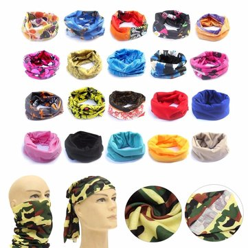 Sport Head Scarf Headbrand Face Mask Snood Motorcycle Cycling Outdooors