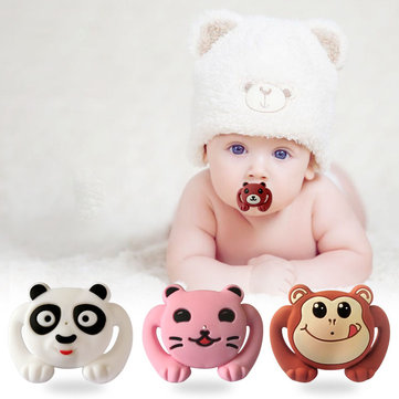 Animal Style Funny Baby Pacifier Food Grade Силиконовый Soother Teether Orthodontic Dummy Baby Nipple