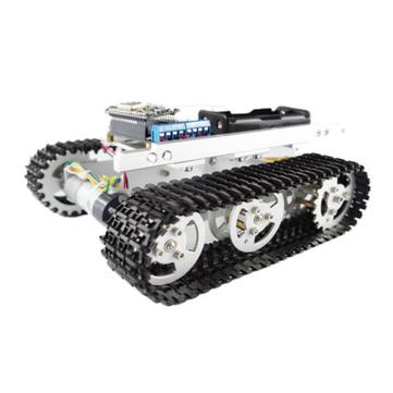 DIY T100 Aluminum Alloy Metal Tank Track Caterpillar Chassis