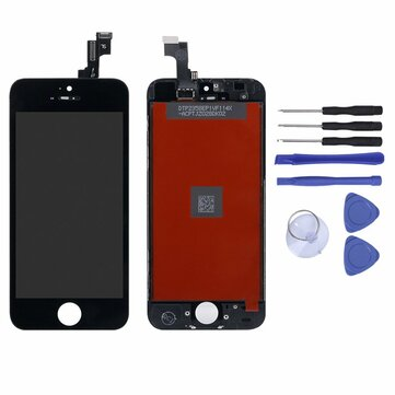 Bakeey Full Assembly LCD Display+Touch Screen Digitizer Replacement With Repair Tools For iPhone 5S