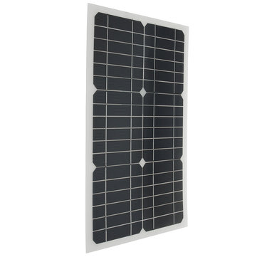 Elfeland® EL-07 18V 20W 42x28x0.25cm Semi Flexible Solar Panel With Sun Power Chip + 3M Cable