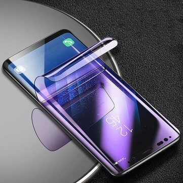 Cafele Anti Blue Light Hydrogel Screen Protector For Samsung Galaxy S8 Plus Clear 3D Curved Edge