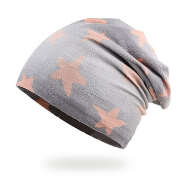 Cotton Slouch Skull Caps Leisure Bonnet Cap