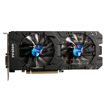 Yeston AMD Radeon RX570 4G D5 GA Graphics Card 256Bit 1244MHz Gaming Graphics Card