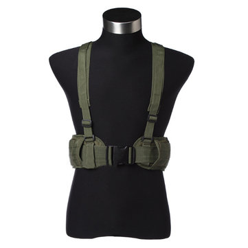 Tactical Molle Belt Adjustable Wearproof Waist Belt Camouflage Military Fan For Men Wowen