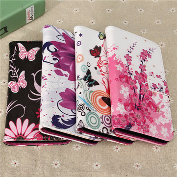 Paint Flip Leather Card Wallet Stand Case Cover For Vodafone Smart Ultra 6