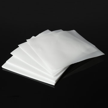 100x100mm White PTFE Plastic Teflon High temperature Film Sheet Plate