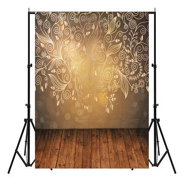 5x7ft Vinyl Wall Wood Floor Photography Backdrops Photo Studio Background Decor