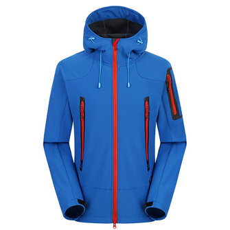 Waterproof Windproof Fleece Soft Shell Outdoor Jacket