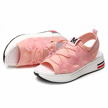 Peep Toe Breathable Casual Summer Outdoor Flat Sandals