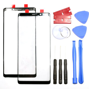 Black Front Glass Outer Touch Screen Replacement + Tools for Samsung Galaxy Note 8