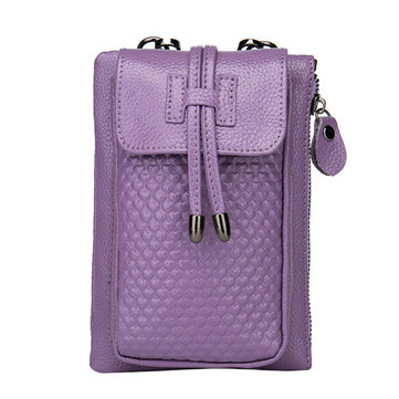 Women Tassel Mini Shoulder Bags Back Pocket Crossbody Bags 5.5'' Phone Purse For Iphone 7p