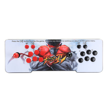 PandoraBox 1220 in 1 Dual Players Video Game Double Stick Arcade Game Console LED Light