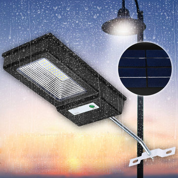 20W Solar Powered PIR Motion Sensor Wall Lamp Outdoor Garden Security Street Light Waterproof