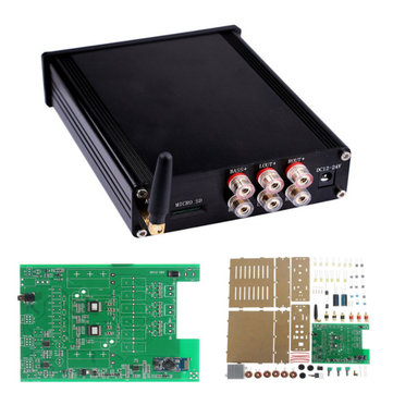 TDA7498E 160W+160W DC 12-24V Bluetooth 4.0 CSR Digital Stereo Audio Amplifier Board With Housing
