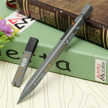 2B Black Mechanical Pencil Lead Holder Exam Answer Sheet Pencil With 6PCs Lead Pencil Refills Set