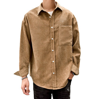 Men Casual Loose Shirts