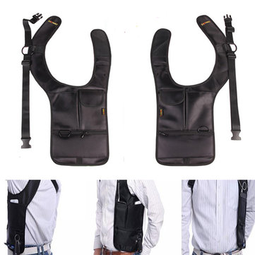 Outdooors Travel Anti Theft Pocket Bag Pack Underarm Agent Pouch Holder Invisible Oxter Haversack