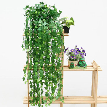 Honana HG-GD1 10Pcs 7.9 Feet Artificial Ivy Leaves Flower Vine Home Garden Decoration