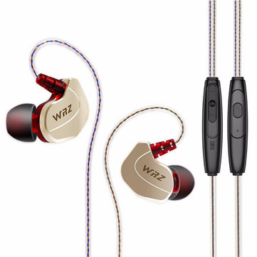 WRZ X6 3.5mm Wired In-Ear Zircon Sports Bass Earphone For iPhone iPad Samsung Xiaomi Huawei HTC