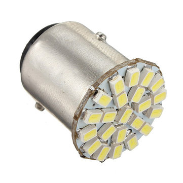 1Pcs 1157 BA15D 22-SMD LED Car Backup Reverse Turn Signal Tail Light Bulb Lamp DC12V 1.4W White