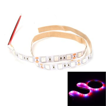 DC12V 0.5M Non-waterproof SMD5050 Red:Blue 4:1 5:1 Full Spectrum 30LED Strip Grow Plant Light