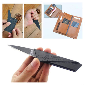 Outdoor Survival Tools Folding Knife EDC Camping Tactical Top Survival Box Utility Paper Cutter