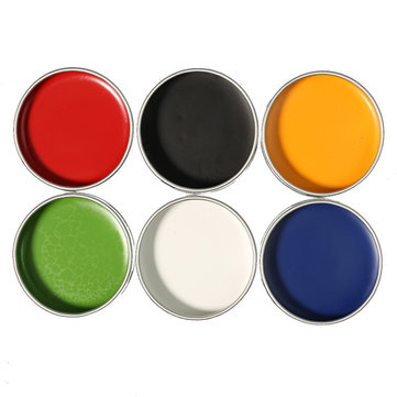6 Colors Facial Body Art Oil Set Kit Paints Drawing Cosmetic Painting Cosplay Halloween