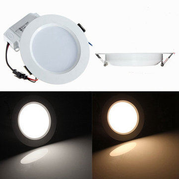 7w round led recessed ceiling panel down light with driver sale 7w round led recessed ceiling panel down light with driver aloadofball Images