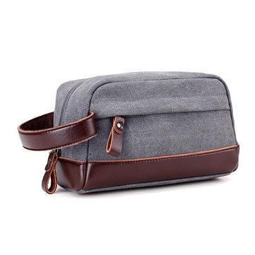 قماش قدرة كبيرة عارضة براثن حقيبة المحمولة بطاقة حامل الهاتف حقيبة مفتاح عملة حقيبة