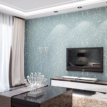 3D Multicolor Modern Flower Textured Wallpaper Simple Embossed Wallpaper