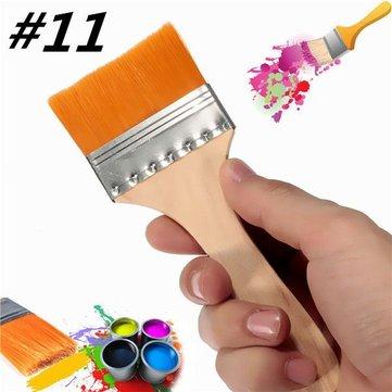 N ° 11 in nylon artisti pennello pittura ad olio vernice acrilica pennelli pittura