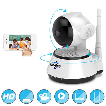 Hiseeu FH2A Wireless IP 720P Security Camera Audio Record Surveillance Mini Baby Monitor CCTV Camera