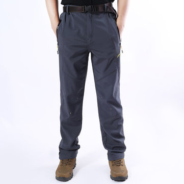 Mens Outdoor Lining Thermal Sport Pants