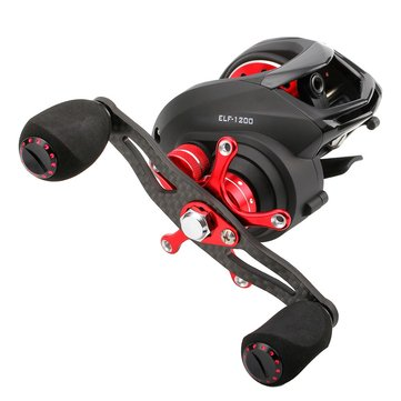 SeaKnight ELF 1200 14BB Carbon Fiber Super Light 169g Two Brake Systems Baitcasting Fishing Reel