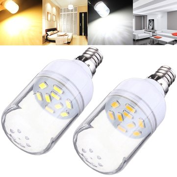 Buy E12 150LM 2W White/Warm White 9 SMD 5630 LED Corn Bulb Spotlight 220V for $2.36 in Banggood store