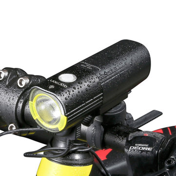 GACIRON 1000 LM Bicycle Light Front Handlebar Light 4500mAh IPX6 Waterproof LED Bike Light USB Rechargeable Power Bank Flashlight 6 Modes