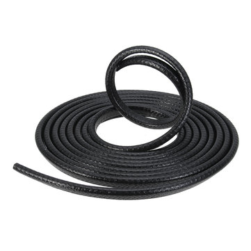 MATCC 4m Car Door Edge Protector Guards U Shape Anti-collosion Rubber Trim Seal Strip Black