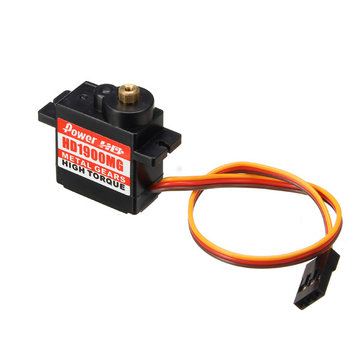 Power HD-1900MG 1.5KG 14g Servo Metal Gear Steel Ring Engine RC Car Spare Part